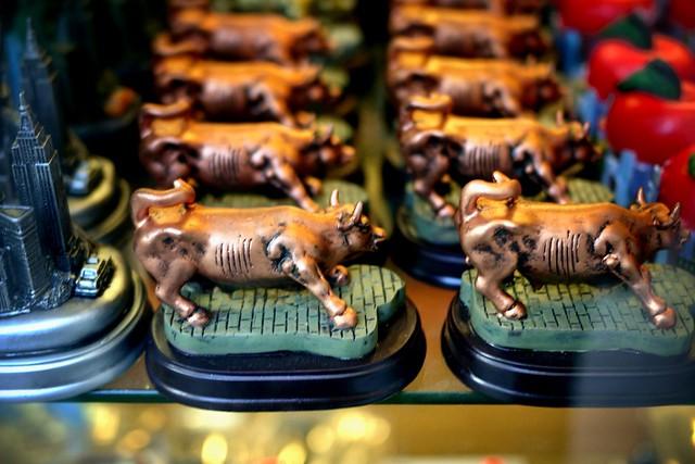Running bulls #walkingtoworktoday