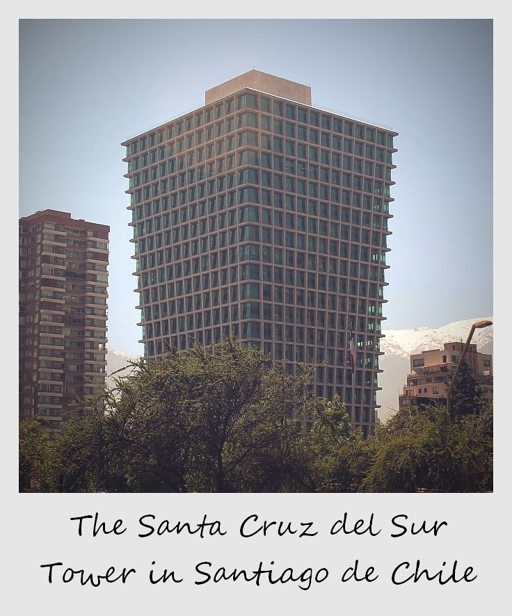 polaroid of the week chile santiago building