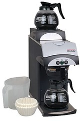 mixer(0.0), coffee(0.0), drink(0.0), kitchen appliance(1.0), drip coffee maker(1.0), espresso(1.0), coffeemaker(1.0), espresso machine(1.0), small appliance(1.0),