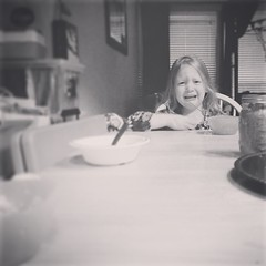 Someone wants a #dietcoke with dinner lol #sawyergrace  #gotobedkid