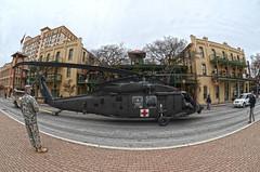 U.S. Army All-American Bowl - Blackhawk arrival