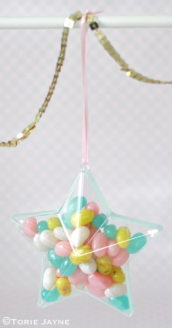 Jelly bean filled stars