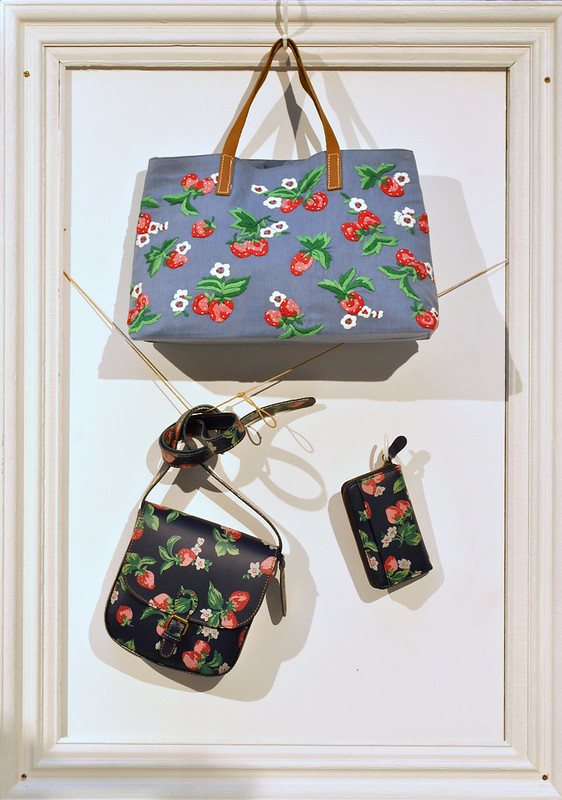 Cath Kidston strawberry bag