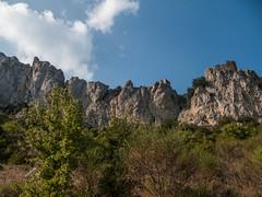 Peyrepertuse face sud  - Aude - France