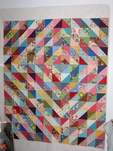 Value quilt in progress