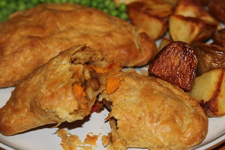 Spicy Chickpea Pasties