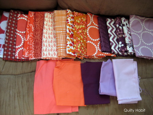 Sister's Ten BOM Fabric Pull