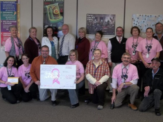 Support continues to roll in from breast cancer awareness month at Corizon