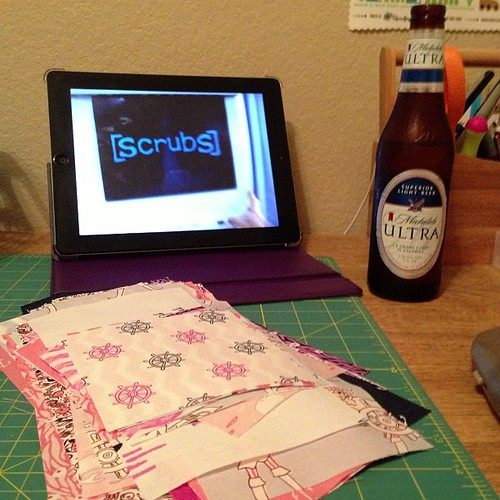 11:365 Beer, sewing & Scrubs...