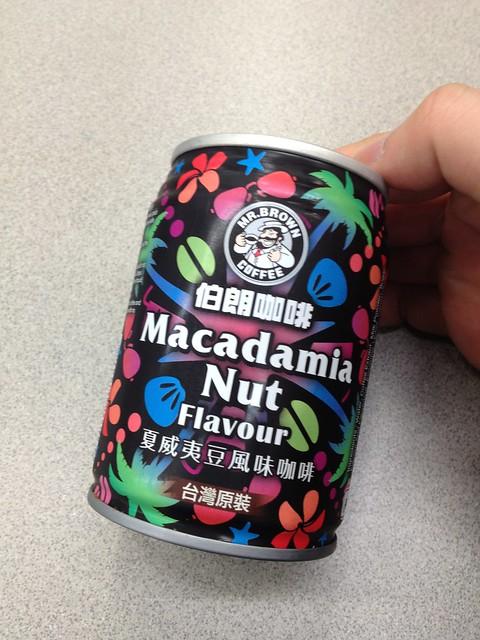 伯朗咖啡夏威夷豆風味,又幾好味