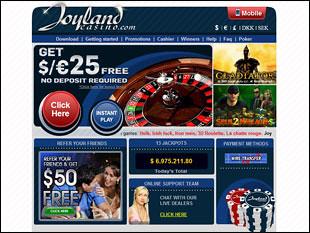 Joyland Casino Home