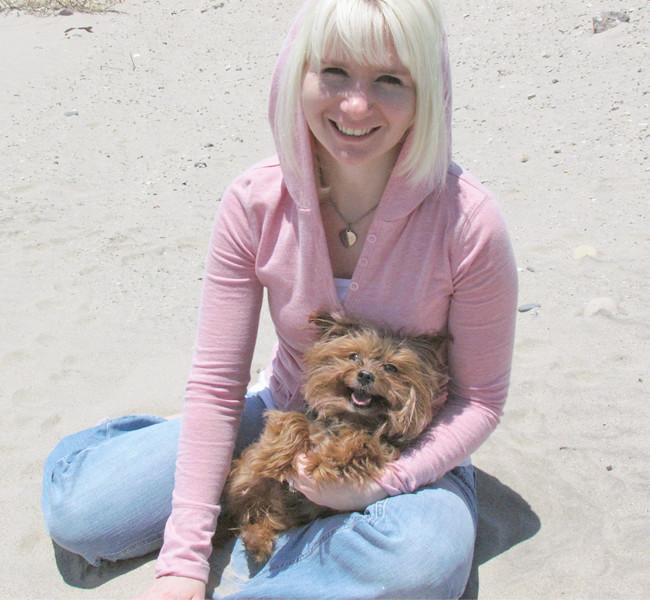 Jessie Muffins beach