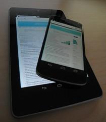 Nexus 4 on a Nexus 7
