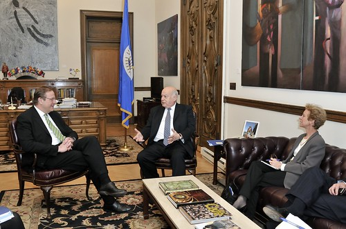 OAS Secretary General Receives President of the Atlantic Council