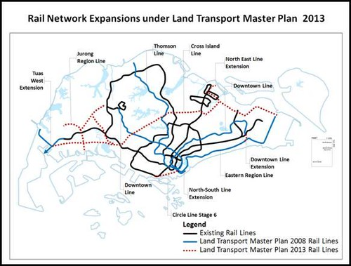 LTA: Rail Network Expansions
