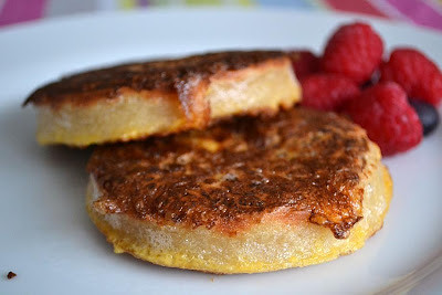 french toast crumpets