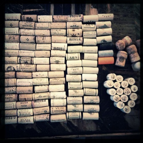 Corks - some day I will make something with them...