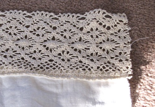 Lace Blouse Detail