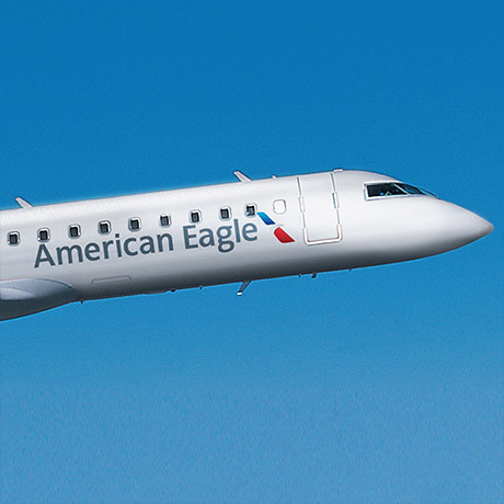 New American Eagle livery