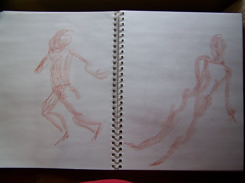 DRAW! Day 15: Figure Drawing - Gesture by chaimann