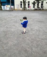 公園散歩(妻撮影) 2013/1/24