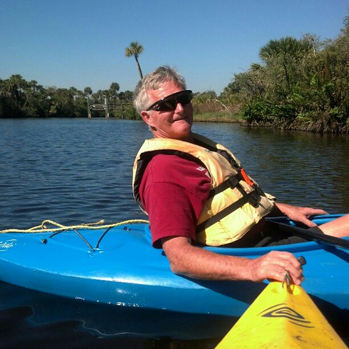 Dad and I just finished our kayaking trip down the St. Sebastian! Beautiful way to spend a Saturday!