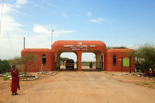 Iremito Gate - Amboseli