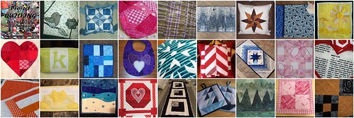Quilts Created for the Second Project QUILTING Challenge - My Favorite Color