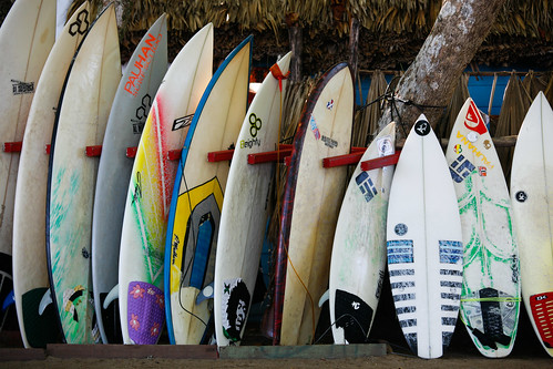 The Surfboards by Alex E. Proimos