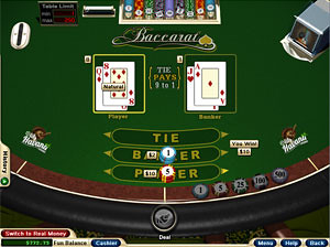 Flash Baccarat