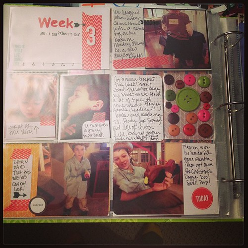 Week 3 done. Will post on blog on Tuesday! Link in profile. #projectlife