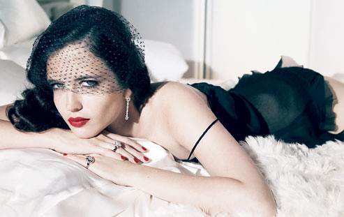 Eva Green เป็น Ava Lord ใน Sin City: A Dame to Kill For