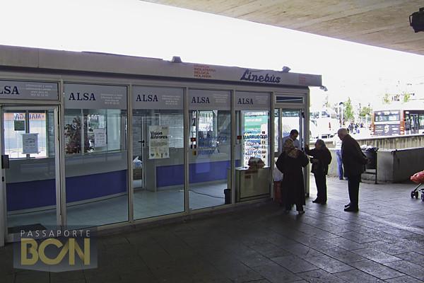 estação de ônibus Barcelona Sants