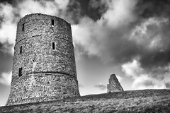 Another B&W Hadleigh Castle Shot