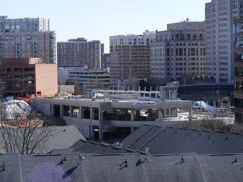 Silver Spring Transit Center From Cameron Street Parking Garage