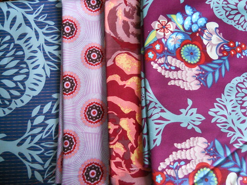 fabrics for the Tripple Zip Along