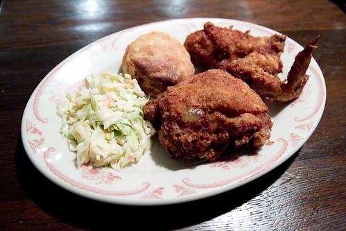 Fried chicken supper
