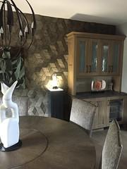 Basalt HD Textured Pedestal 11.5 x 11.5 x 42 with Ambient Light