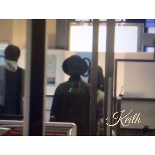 G-Dragon - Haneda Airport - 02mar2015 - 一輝-KEI- - 01