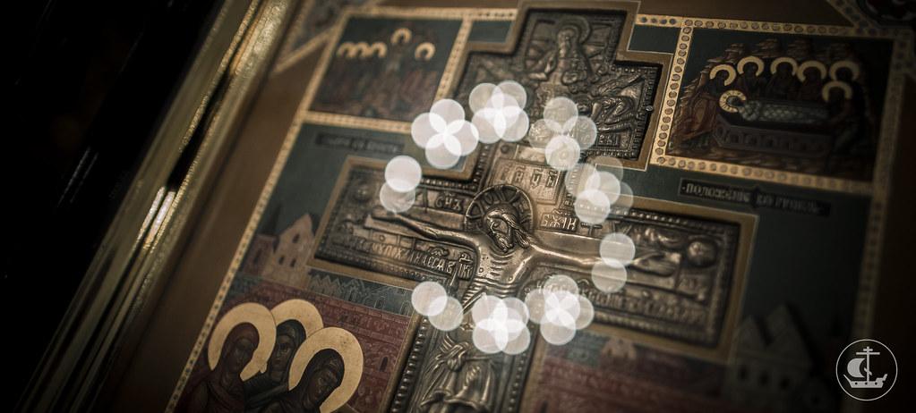 26 сентября 2016, Всенощное накануне Воздвижения Честного и Животворящего Креста Господня / 26 September 2016, Vigil on the eve of The Universal Exaltation of the Precious and Life-giving Cross