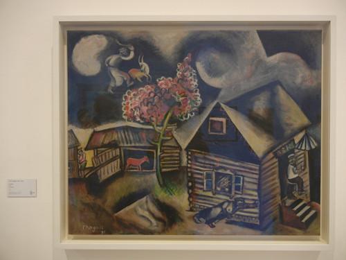 DSCN2882 _ Rain (La Pluie), Marc Chagall, 1911, Collezione Peggy Guggenheim, 15 October