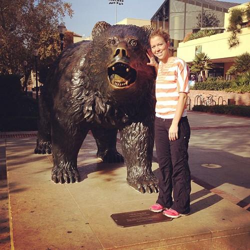 Bruin the Bear. #ucla