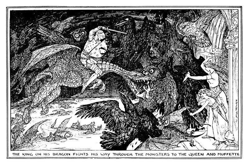 Henry Justice Ford - The orange fairy book edited by Andrew Lang , 1906 (illustration 9)