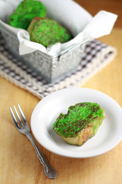Pandan French Toasts