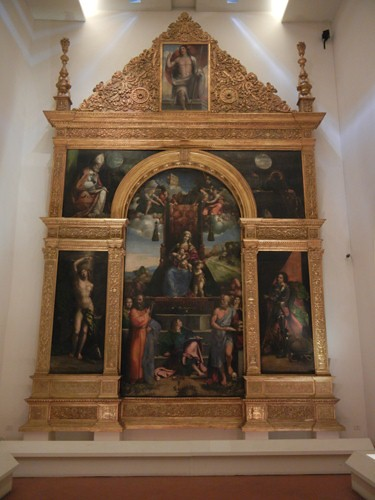 DSCN3897 _ Polittico Costabili, Benvenuto Tisi, detto il Garofalo, Giovanni Luteri, detto Dosso Dossi