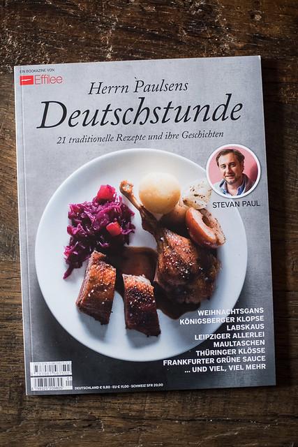 Effilee Bookazine -Herr Paulsens Deutschstunde