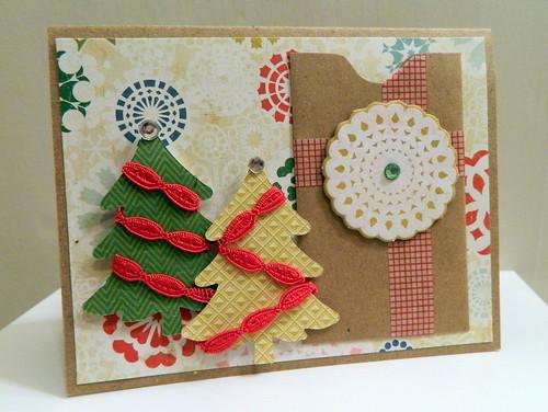 Christmas Swap Card From Tasha