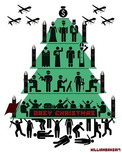 OBEY CHRISTMAS by Colonel Flick/WilliamBanzai7
