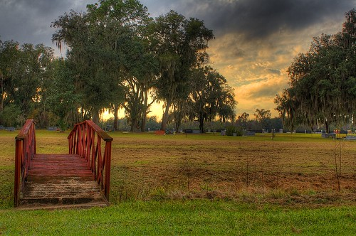 sunset nature cemetery clouds landscape florida hdr mcintosh