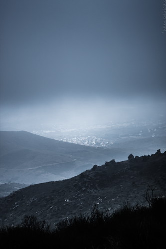 blue cloud mist black fog canon published moody athens greece depth canonef50mmf14usm penteli pendeli canoneos40d